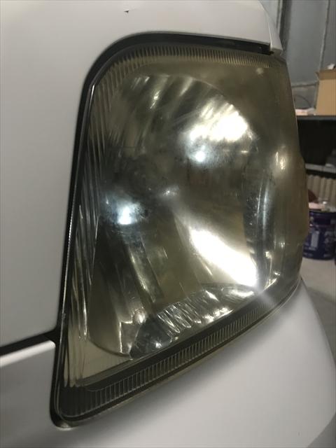 ヘッドライトの修理