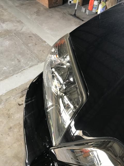 ヘッドランプ修理